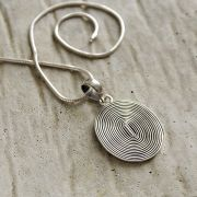 Silver Indian pendant