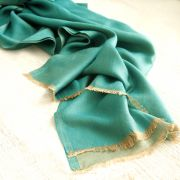 Indian elegant and sweet scarf green