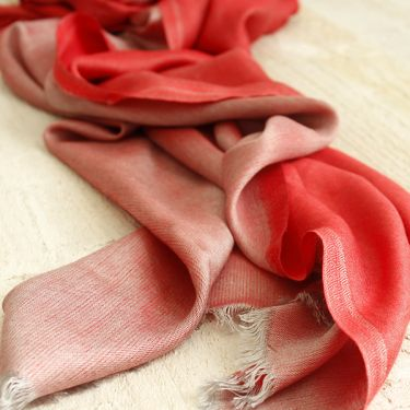 Indian elegant and sweet scarf pink