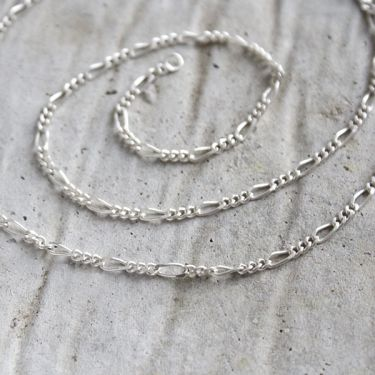 Indian silver plain chain elegant