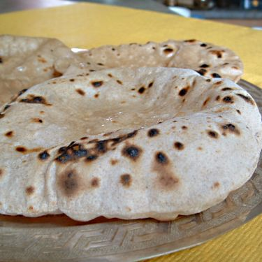 Pack Chapati pain indien