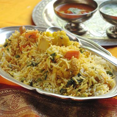 Indian dish Biryani Pack