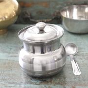 Ghee dani Stainless steel pot Ø8