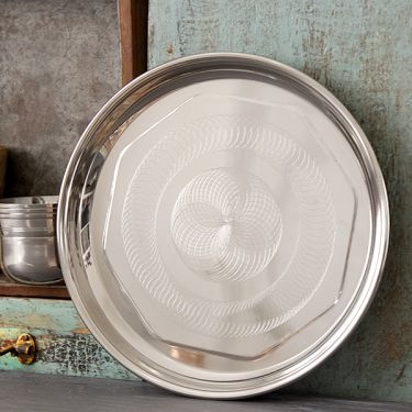 Thali Indian plate 28'