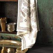 Indian kitchen towel or napkin white