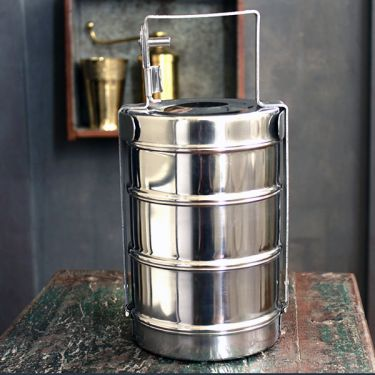 Lunch box Indian tiffin 13'