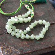 Adjustable Indian necklace aventurine square